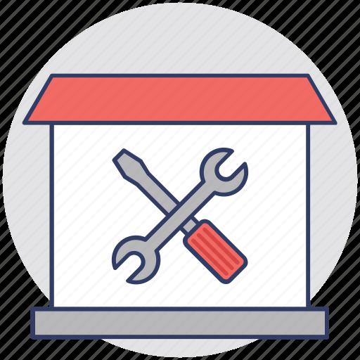 home construction, home maintenance, home renovation, home repair icon