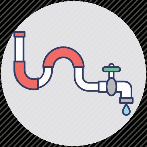faucet, plumbing, pvc, sanitary fitting, water tap icon