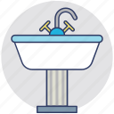 bathroom interior, bathroom sink, kitchen sink, sink, wash basin icon