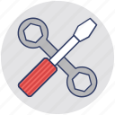 adjustable tools, garage, maintenance, repairing tool, tools icon