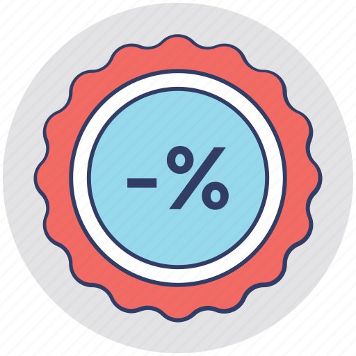 customer offer, discount coupon, discount label, sale element, sale tag icon