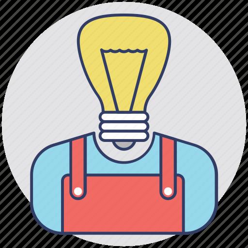 animation, idea, innovation, inspirations, solutions icon
