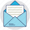airmail, airpost, correspondence, letter, mail icon