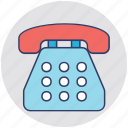 call, fax, landline, telecommunication, telephone icon