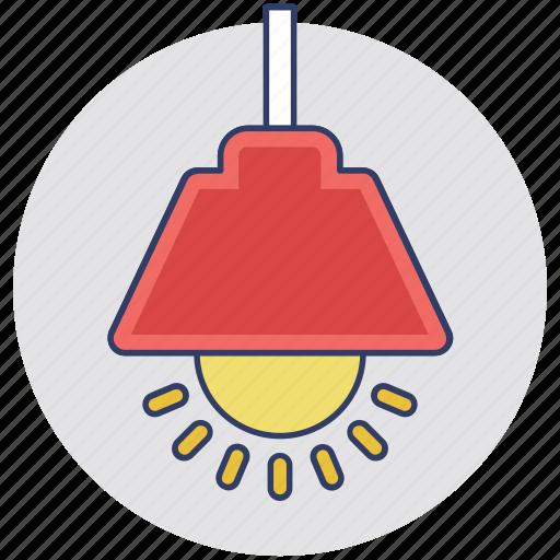 electric lamp, hanging lamp, hanging light, pendant lamp icon