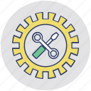 configuration, maintenance, service tool, settings, tools icon