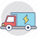 electric supply transport, electric transport, electricity provider, electricity services, thermal power supply icon
