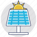 solar electricity, solar energy, solar panel, solar power, solar solar cell icon