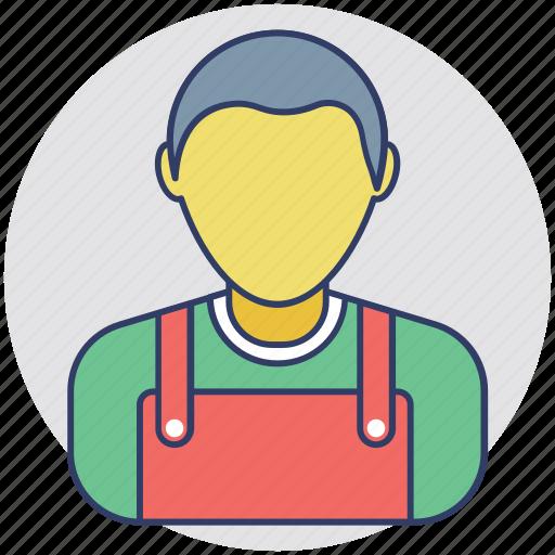 handyman, laborer, servant, worker, workman icon