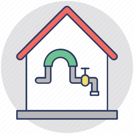 water plant, water supply, water system, waterworks, waterworks industry icon