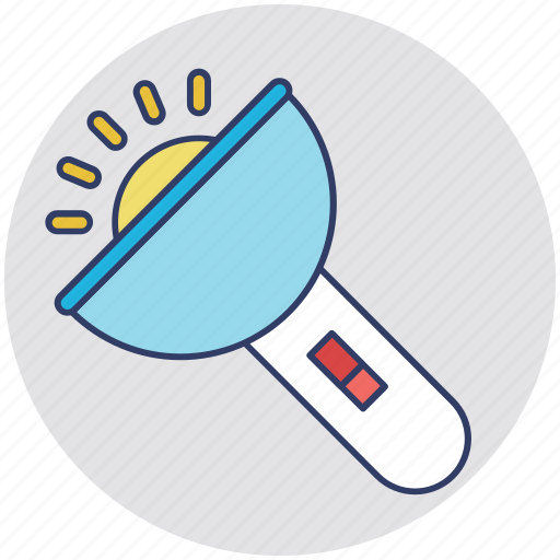Electric torch, flashlight, hand torch, pocket torch, torch icon - Download on Iconfinder