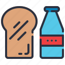 breakfast, brunch, launch, meal icon
