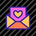 concept, contour, heart, honeymoon, letter, love, wedding