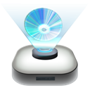 blueray, drive icon