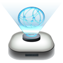 drive, modern, network icon