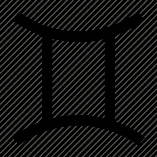gemini, horoscope, sign icon