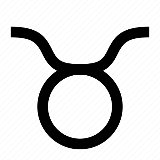 horoscope, sign, taurus icon