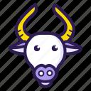 animal, bull, gaur, horoscope, sign, taurus, zodiac
