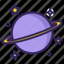 neptune, star, horoscope, saturn, planet, asteroid, uranus icon