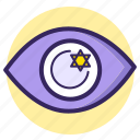 blink, eye, fortune, future, hope, see, vision icon