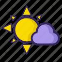 fresh, light, sun, cloud, sunlight icon