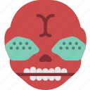 creepy, demon, emojis, halloween, horror, scary, spooky icon