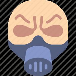 creepy, emojis, halloween, horror, mask, scary, spooky icon