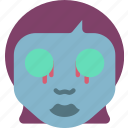 creepy, dead, emojis, halloween, horror, scary, spooky icon