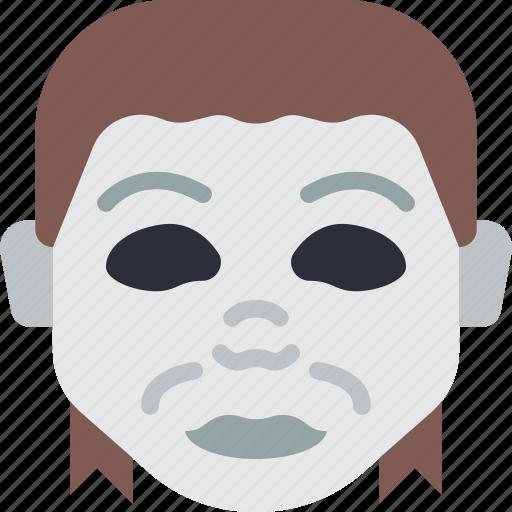 creepy, emojis, halloween, horror, michael, myers, spooky icon