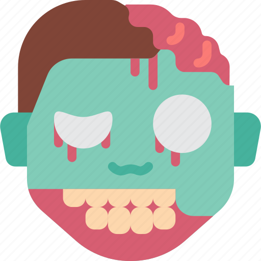 Creepy, emojis, halloween, horror, scary, spooky, zombie icon - Download on Iconfinder