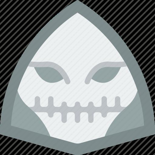 creepy, emojis, halloween, horror, scary, skull, spooky icon