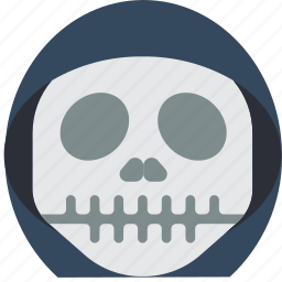 creepy, emojis, grim, halloween, horror, reaper, spooky icon