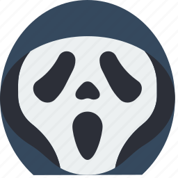 creepy, emojis, halloween, scary, scream, spooky icon