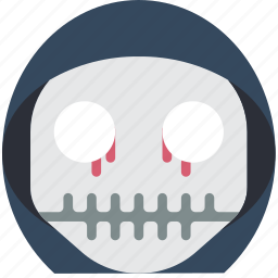 boy, creepy, emojis, halloween, horror, scary, skull icon