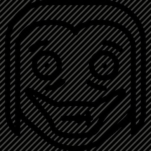 creepy, emojis, halloween, horror, jeff, scary, spooky icon