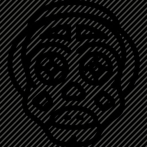 creepy, halloween, horror, outline, scary, spooky icon