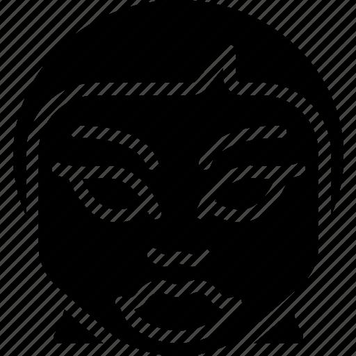 creepy, emojis, girl, halloween, horror, scary, spooky icon