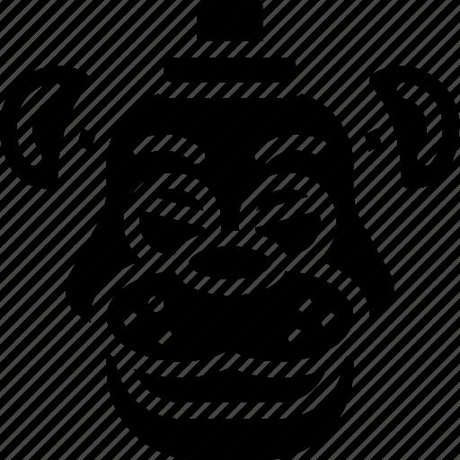 creepy, emojis, freddy, halloween, scary, spooky icon