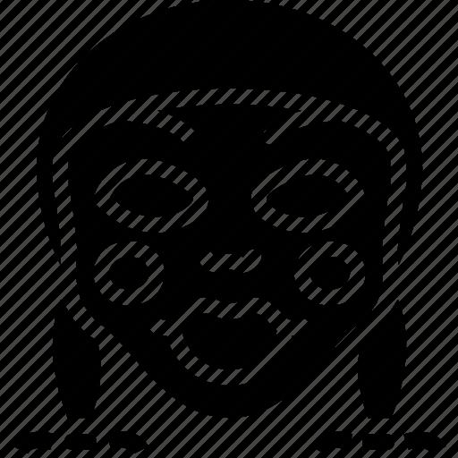 annabelle, creepy, emojis, halloween, scary, spooky icon
