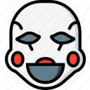 creepy, emojis, halloween, horror, mangol, scary, spooky icon