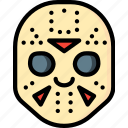 creepy, emojis, halloween, horror, jason, scary, spooky icon