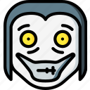 creepy, emojis, halloween, horror, jeff, killer, scary icon