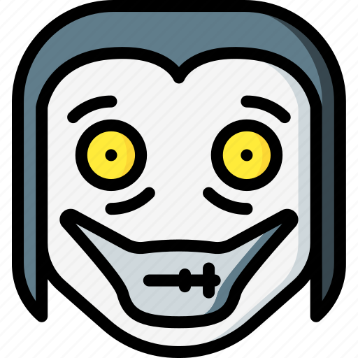 creepy, emojis, halloween, horror, jeff, killer, scary icon