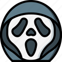 creepy, emojis, halloween, horror, scary, scream, spooky icon