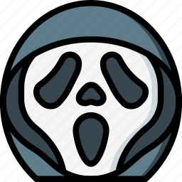 creepy, emojis, halloween, horror, scary, scream, spooky icon