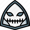 creepy, halloween, horror, scary, skull, spooky icon