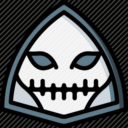 creepy, halloween, horror, scary, skull, spooky icon