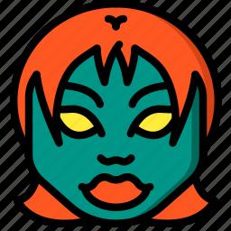 creepy, demon, emojis, halloween, horror, scary, spooky icon