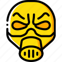 creepy, emojis, halloween, man, mask, scary, spooky icon