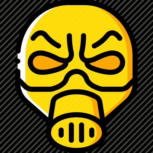 creepy, emojis, halloween, man, mask, scary, spooky icon